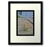 Docklands, Melbourne City Framed Print