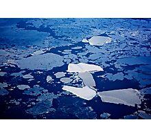 Antarctic ice blocks Photographic Print
