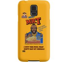Mr. T - Cereal - T Shirt Samsung Galaxy Case/Skin