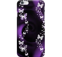 Purple Butterflies iPhone Case/Skin