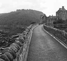 Eilean Donan Panorama by Adrian Alford Photography