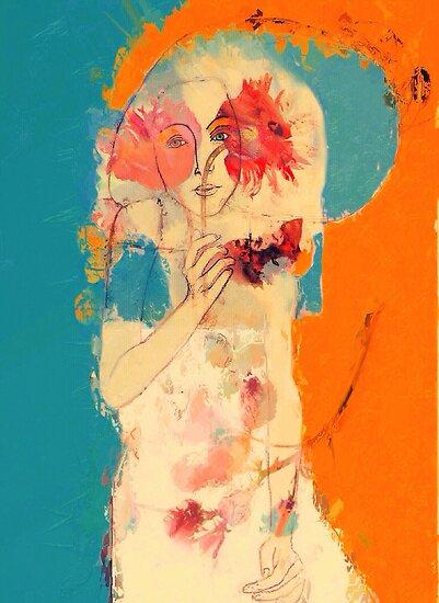 In Blue & Orange by Sarah Jarrett