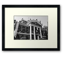 Haunted Mansion Photograph  Framed Print