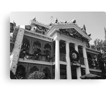 Haunted Mansion Photograph  Canvas Print
