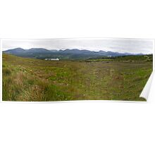 The Highlands Panorama Poster