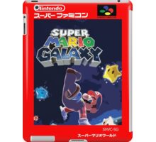 Super Mario Galaxy Retro Nintendo Super Famicom Style Cover Art Shirt iPad Case/Skin