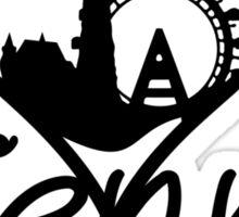 Vienna Heart Sticker