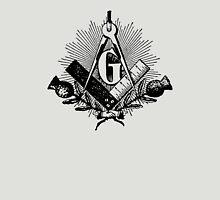Masonic symbol, squaring the circle, freemason Unisex T-Shirt