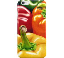 Rainbow of Peppers iPhone Case/Skin