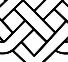 CELTIC HEART - INFINITE LOVE & LOYALITY Sticker