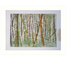 Japanese Bamboo Forest Art Print