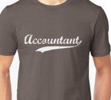 Accountant Swoosh Unisex T-Shirt