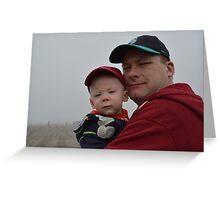 Like Father Like Son Greeting Card