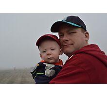Like Father Like Son Photographic Print