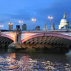 Blackfriars Bridge by Cat Perkinton