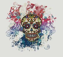 Mexican Sugar Skull, Day of the Dead, Dias de los muertos by nitty-gritty