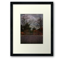 Illusions in Autumn Framed Print