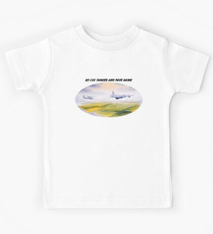 KC-130 Tanker And Pave Hawk HH60 Kids Tee
