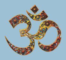 OM - Mantra - Buddhism - Symbol of spiritual strength  Kids Clothes