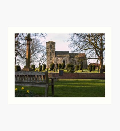 St Thomas's, Green Hammerton Art Print