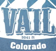 Vail Colorado Ski Resort Sticker