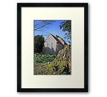 St Paul, Elsted in spring Framed Print