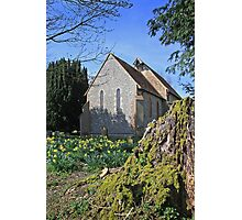 St Paul, Elsted in spring Photographic Print