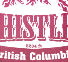 Whistler British Columbia Ski Resort Sticker