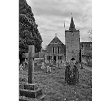 St Mary, Easebourne, West Sussex Photographic Print