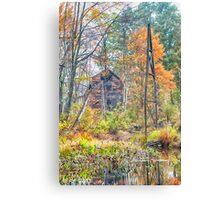 Amongst Autumn Canvas Print
