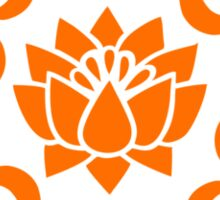OM LOTUS - Buddhism - Symbol of spiritual strength  Sticker