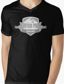 Winter Park Colorado Ski Resort Mens V-Neck T-Shirt