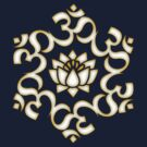 OM LOTUS - Buddhism - Symbol of spiritual strength  by nitty-gritty