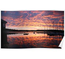 Scilly sunrise Poster