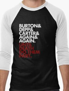 Platinum Trio Men's Baseball ¾ T-Shirt