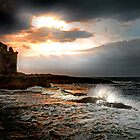 Dusk and Breeze at Portencross by George Crawford