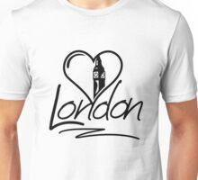 London Heart Unisex T-Shirt