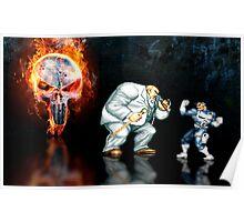 Punisher pixel art Poster