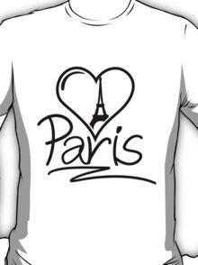 Paris Heart T-Shirt