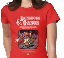 Dungeons and Ganon Womens Fitted T-Shirt