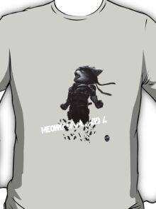 Meowtal Fur Solid 4 T-Shirt