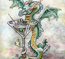 Martini Dragon by Ellen Marcus