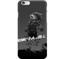 Meowtal Fur Solid 4 iPhone Case/Skin