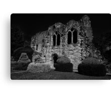 Religious Remains Canvas Print