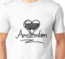 Amsterdam Heart Unisex T-Shirt