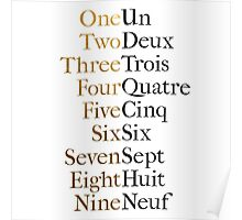 Ten Duel Commandments/Take A Break (Hamilton: An American Musical) Poster