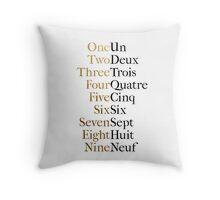 Ten Duel Commandments/Take A Break (Hamilton: An American Musical) Throw Pillow