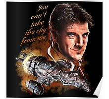 Firefly - You Can't Take The Sky From Me. Poster