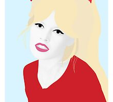 Brigitte Bardot - What Could Be More Beautiful by Karli Florence