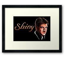 Captain Malcolm Reynolds - Shiny Framed Print